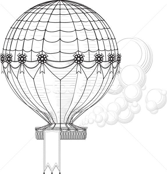 Hot Air Balloon Stock photo © sharpner