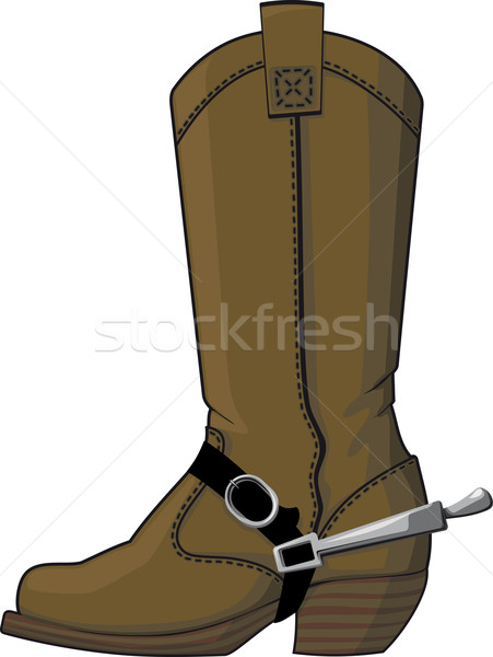 cowboy boots with spurs Stock photo © sharpner