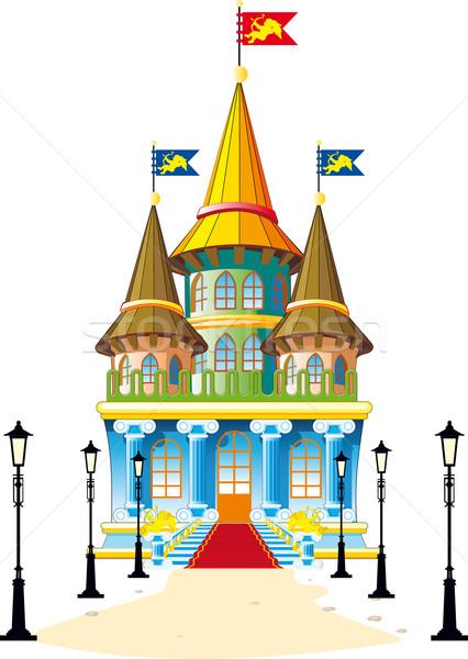 Fairytale castle Stock photo © sharpner