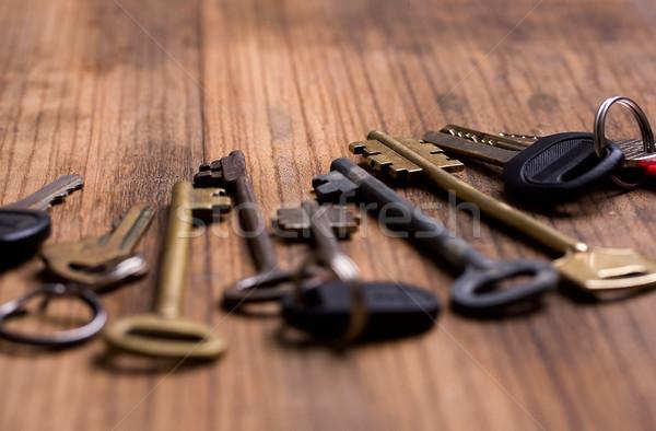 Chave vários teclas diferente anos Foto stock © sharpner