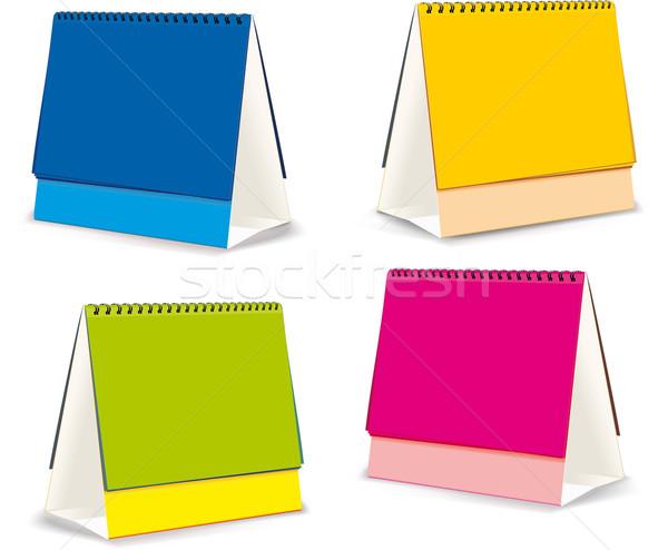 blanks for Desktop calendars Stock photo © sharpner