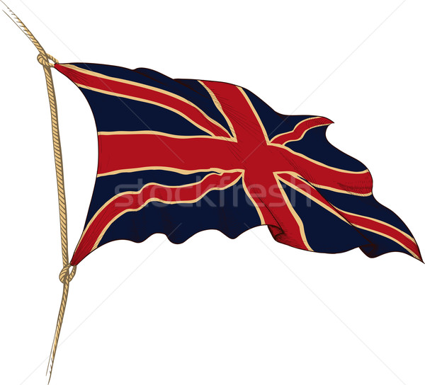 flag of Great Britain Stock photo © sharpner