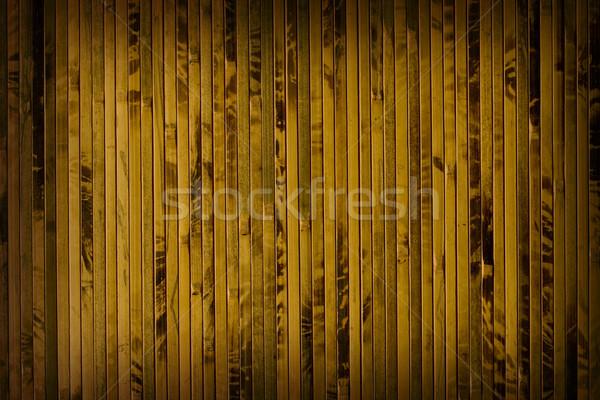 Bruin bamboe verticaal gedekt textuur Stockfoto © sharpner