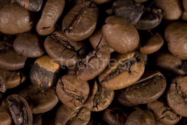Koffiebonen goed koffie abstract Stockfoto © sharpner