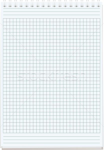 Vel papier merkt geïsoleerd witte business Stockfoto © sharpner