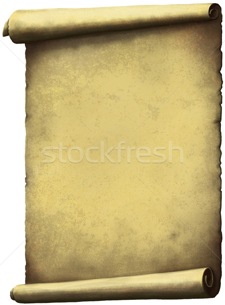 Old Scroll paper Stock photo © sharpner