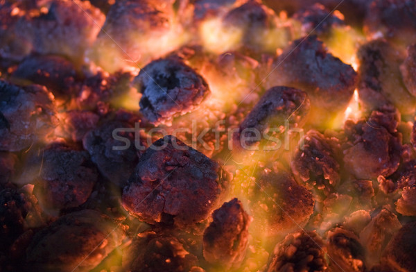 coals of fire Stock photo © sharpner