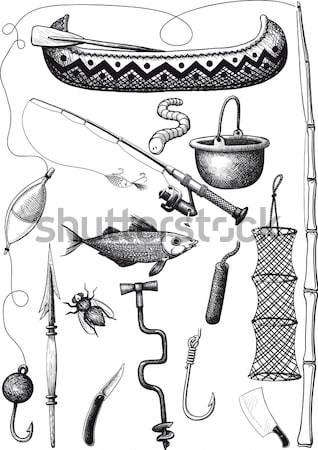 海賊 セット オウム フラグ その他 お金 ストックフォト © sharpner