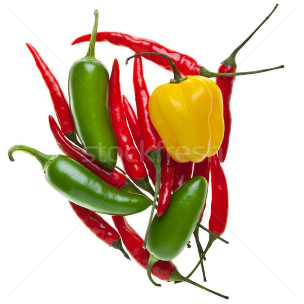 Chilies Stock photo © ShawnHempel