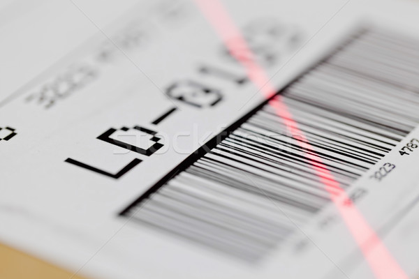 Barcode scan Stock photo © ShawnHempel