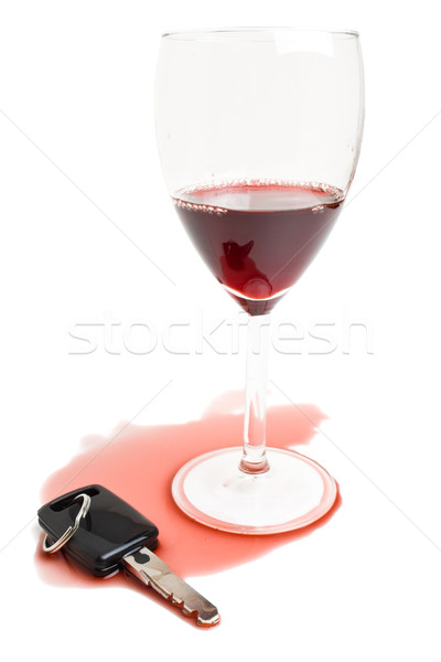 Don't drink and drive concept Stock photo © ShawnHempel
