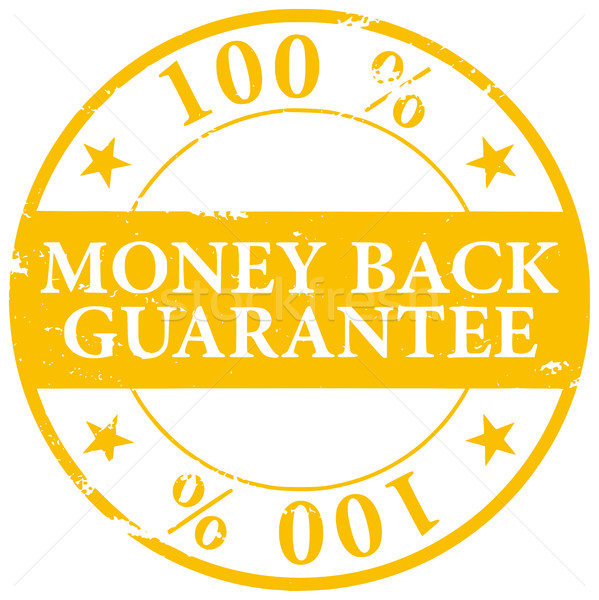 Arany színes 100 pénz hát garancia Stock fotó © ShawnHempel
