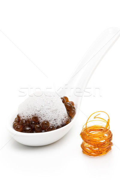 Molecular gastronomy - coffee Stock photo © ShawnHempel