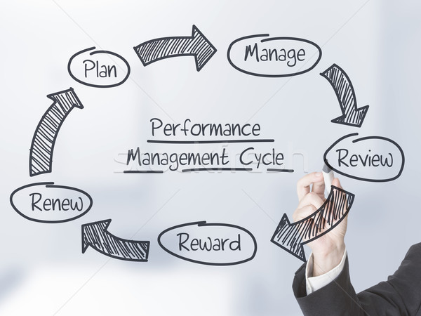 Performance management cycle Stock photo © ShawnHempel