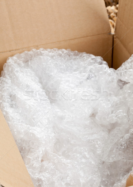 Bubble wrap packaging Stock photo © ShawnHempel