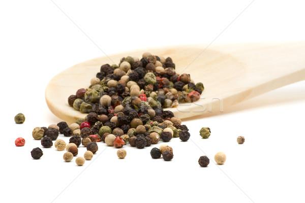 Peppercorns Stock photo © ShawnHempel
