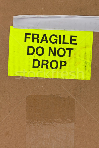 Fragile Stock photo © ShawnHempel