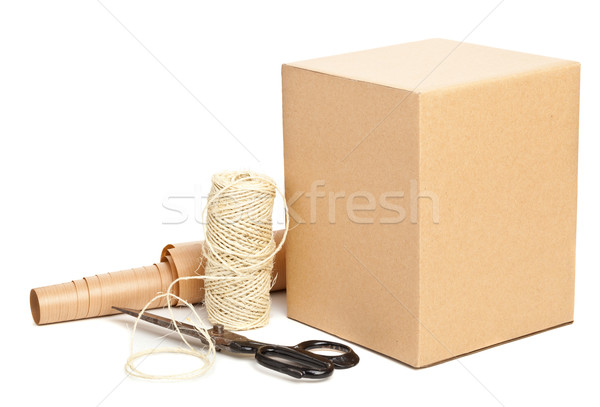 Packaging materials Stock photo © ShawnHempel