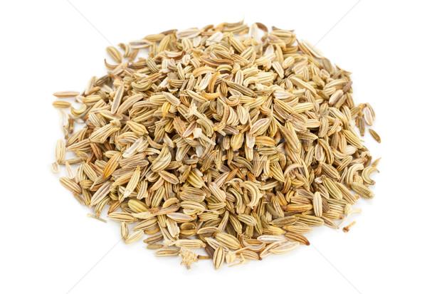 Koper nasion suszy organiczny biały Zdjęcia stock © ShawnHempel