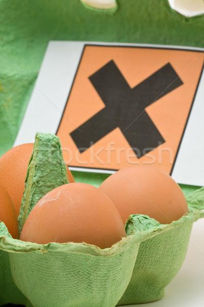 Toxic eggs Stock photo © ShawnHempel