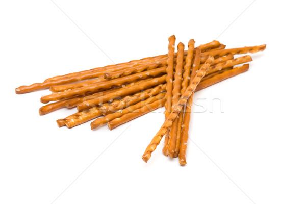 Chleba Stick przekąska biały Zdjęcia stock © ShawnHempel
