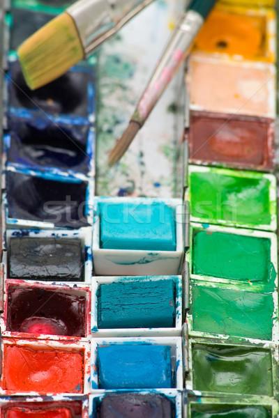 Paint box Stock photo © ShawnHempel