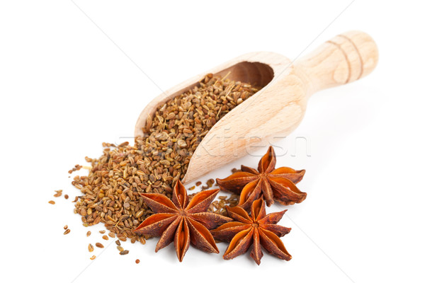 Aniseed and star anise Stock photo © ShawnHempel