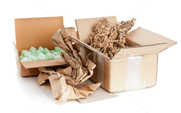 Recyclable packaging material Stock photo © ShawnHempel