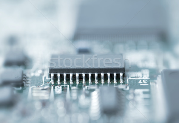 Microchip Stock photo © ShawnHempel