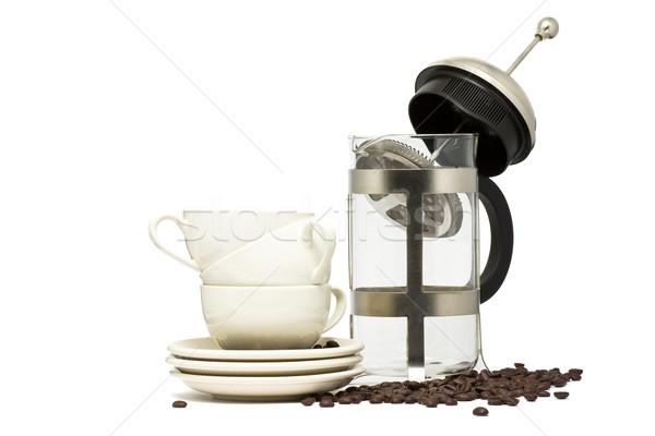 Coffe maker Stock photo © ShawnHempel