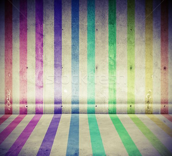 спектр конкретные линия комнату Сток-фото © ShawnHempel