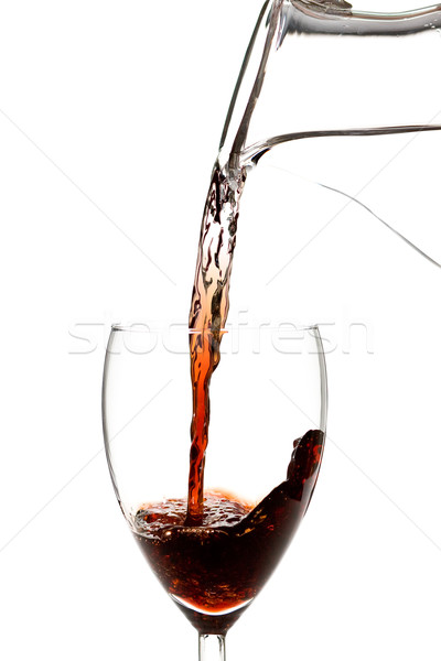 Water into wine Stock photo © ShawnHempel