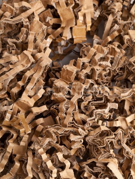 Recycled corrugated cardboard Stock photo © ShawnHempel