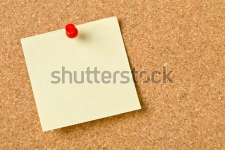 Paper note Stock photo © ShawnHempel