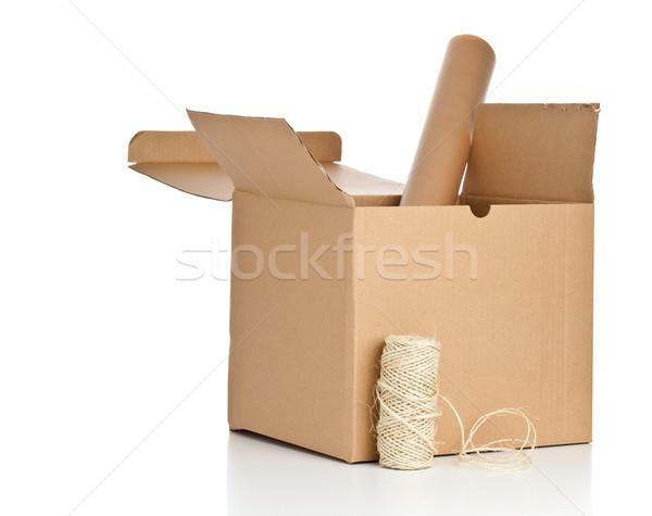 Packaging materials Stock photo © ShawnHempel