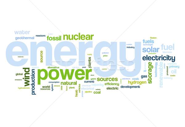 Energy sources Stock photo © ShawnHempel