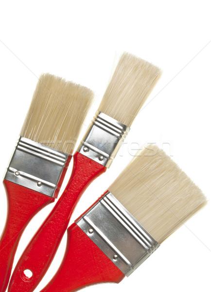 Paint brushes Stock photo © ShawnHempel