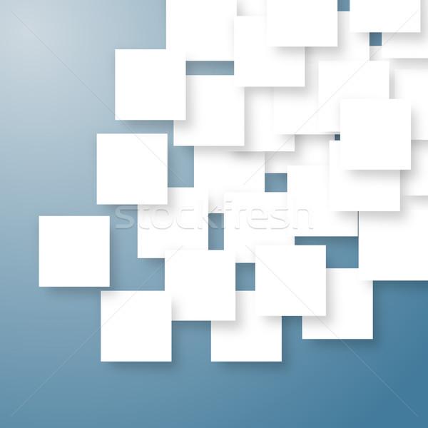 Foto stock: Branco · abstrato · placas · limpar · acima