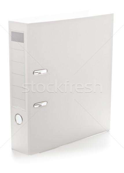 White ring file Stock photo © ShawnHempel