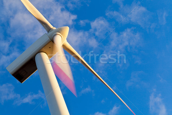 Windmill power generator Stock photo © ShawnHempel