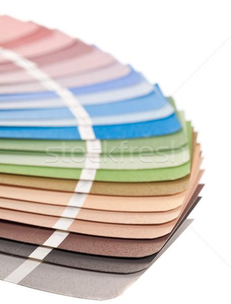 Color chart guide Stock photo © ShawnHempel