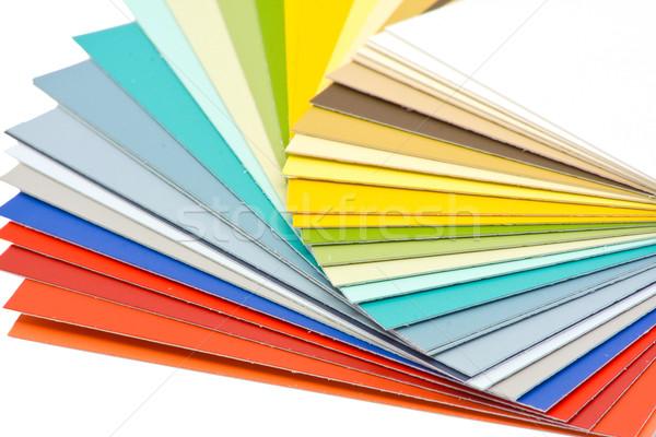 Renk rehberlik yalıtılmış beyaz teknoloji Stok fotoğraf © ShawnHempel