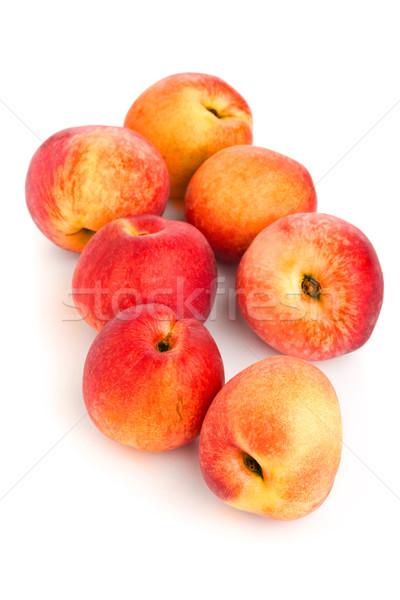 Inteiro branco grupo comida saúde laranja Foto stock © ShawnHempel