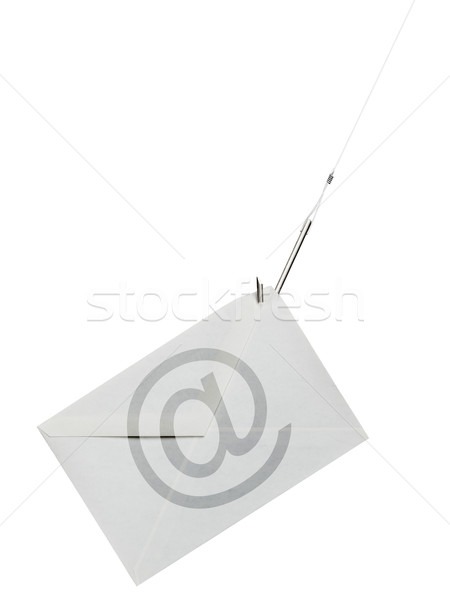Phishing crochet courriel lettre ligne fraude Photo stock © ShawnHempel