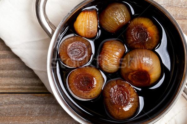 Pickling onions Stock photo © ShawnHempel