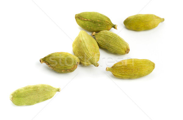 Cardamom seed pods close up Stock photo © ShawnHempel