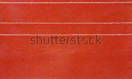 Red leather with stitching Stock photo © ShawnHempel