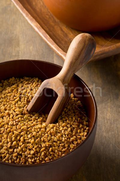 Całość zobaczyć nasion puchar szufelka Zdjęcia stock © ShawnHempel