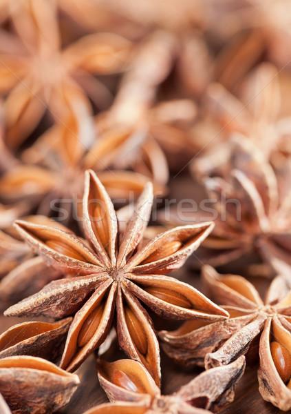 звездой анис избирательный подход плодов Рождества Сток-фото © ShawnHempel
