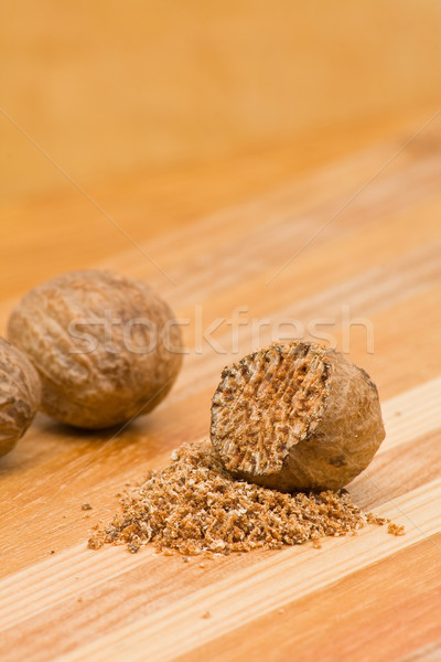 Nutmeg Stock photo © ShawnHempel